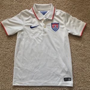 Nike USA soccer jersey youth S